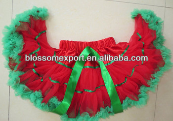 Wholesale Christmas fairy skirt design baby girls pettiskirts children tutu skirt