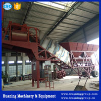 ISO certified products mobile concrete batching plant YHZS50 for sale