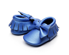 good design funny cute bowknot promotional high quality dress casual spanish cheap baby shoes