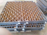 Hot dip galvanized trench drain grating cover,steel grating