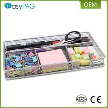 Multifunctionele Hot Selling Office Supply Metalen Mesh Kantoorbenodigdheden Items Bureau Organizer
