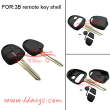 High quality Mitsubishi 3 buttons remote control key blank without logo