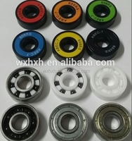 608 bearings for spinner toys ceramic bearings,colorful seals 8x22x7mm