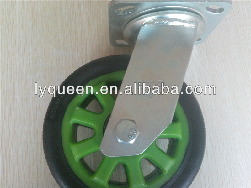 rubber caster mold 14 inch caster wheel /6/8/10