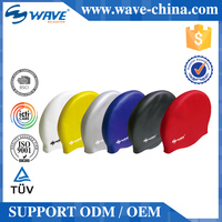 Hot Sale Premium Quality Fancy Adult Silicone Swimming Caps Long Hair