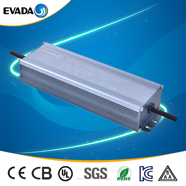 0-10v dimming led driver 7500ma 250w for led bulbs
