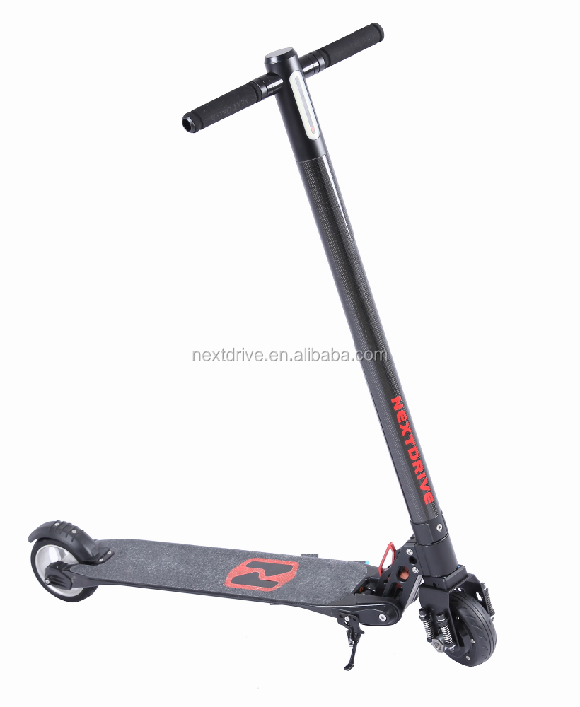 the lightest Two Wheel Carbon Fiber Kick E-Scooter In The World, 6.3kg foldable carbon electronic Scooter