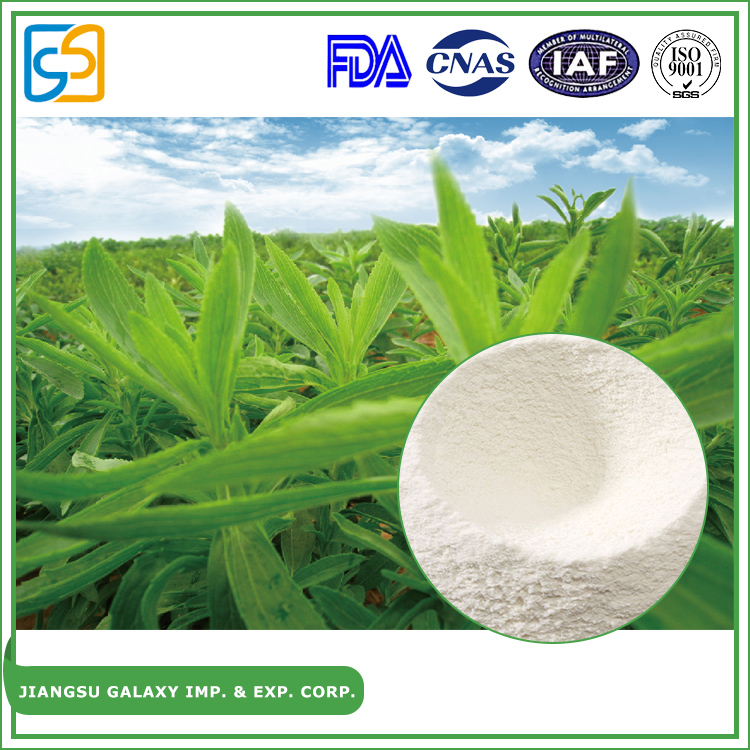 Factory direct sales sweetener p.e.powder natural stevia extract