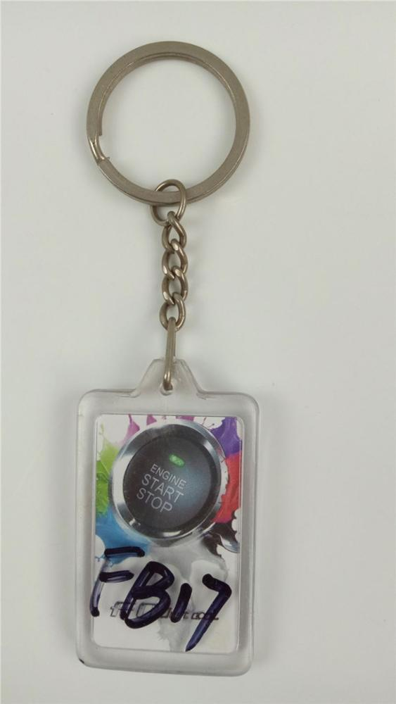 TOP SALE custom design engraved acrylic keychain for wholesale