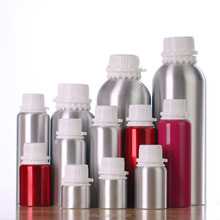 50ml to 10000ml wholesale aluminum essential oil bottle with tamper