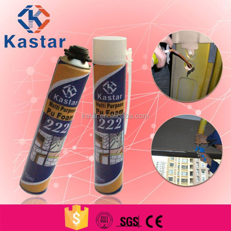pu foam sealants/gap filling foam sealants/waterproof foam sealants