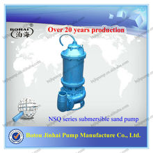 NSQ series centrifugal submersible sand dredging pump