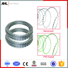 High Quality PVC Galvanzied Concertina Razor Barbed Wire