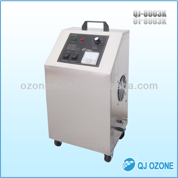 ozone air cleaning, ozone air purifier, corona discharge quartz tube and silicone sealed cap