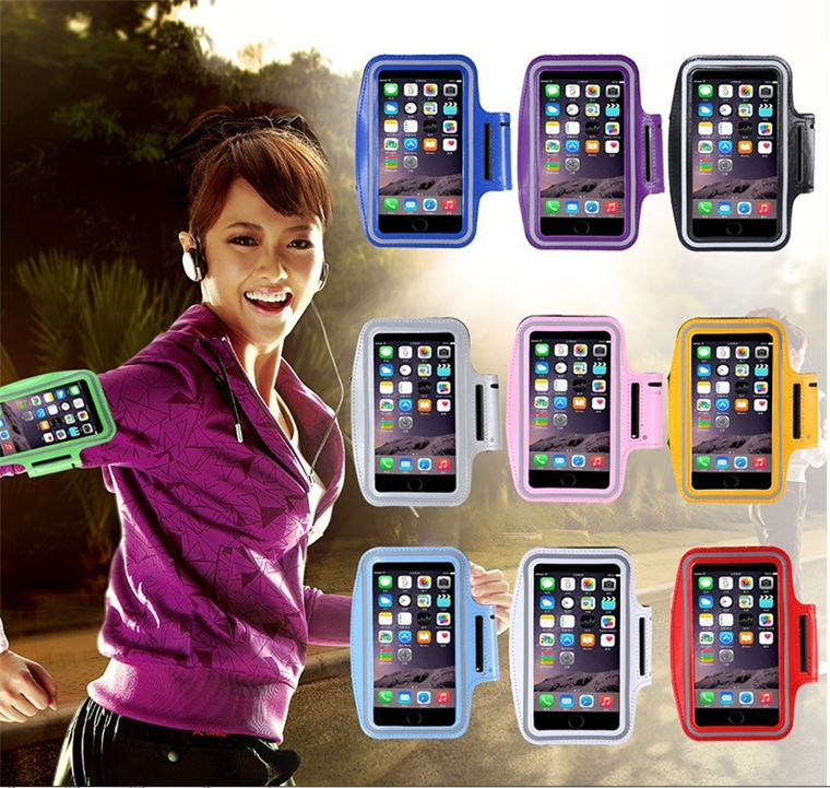 Hot Selling Neoprene Waterproof Cute Running Sport Gym Armband Smart Phone Bag Case for Iphone 5 6s