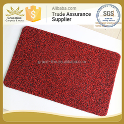 New arrival and prevailing flat silk utility mat with PVC backing