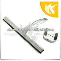 stainless steel shower wiper