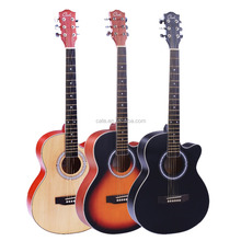 new arrival archtop guitar cheap price wood guitar high quality basswood guitar