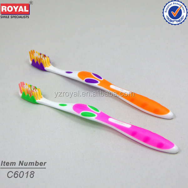 Adult toothbrush&Special need toothbrush for adult with laser card