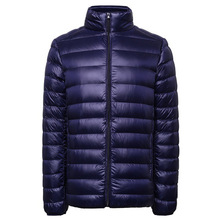 Hight Quality Good Filling Power Foldable Packable Outdoor Light Duck Real Feather Genuine Men's Down Jacket