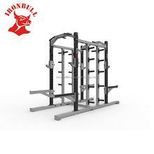Fitness training rack strength power rack tube 75x75x3mm