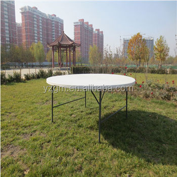 6ft Cheap Plastic Folding Round Table