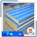 2018 new design rockwool insulated aluminum roofing sandwich panels 150mm