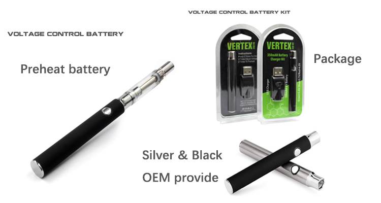 wholesale cbd vape pen starter kit 510 thread style battery with 350mah capacity