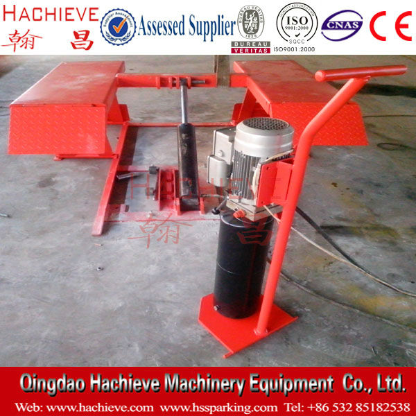 Small and movable scissior car lifts /car jack /scissor type lifts