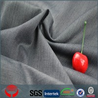 Supplier in China 2015 new design polyester viscose tr shiny woven suit milano fabric/shaoxing fabric