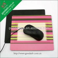 2015 new design fashion gaming mouse pad / Photo frame mouse pad
