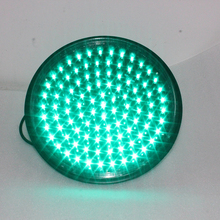 New model 300mm green led flashing signal module traffic light blinker