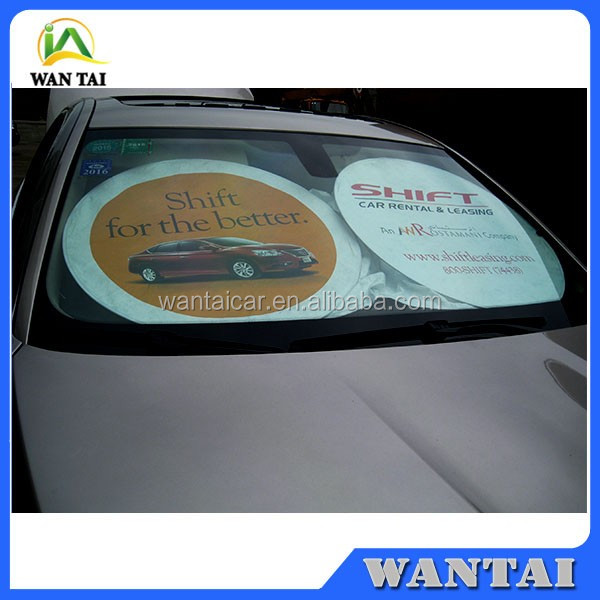 white tyvek car sunshade