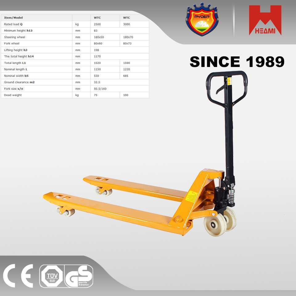 2015 china battery pallet truck hydraulic scale oil drum lifter