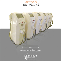CE/ISO Approved! Permanent hair removal machine powerful two handle ipl shr