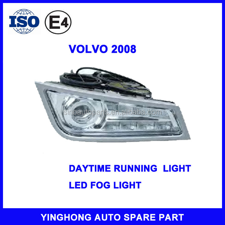 FOR VOLVO FH/FM 21297917 21297918 LED DAYTIME RUNNING LIGHT DRL LAMP AND FOG LIGHT