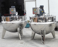 double jacketed industrial steam pressure cooker