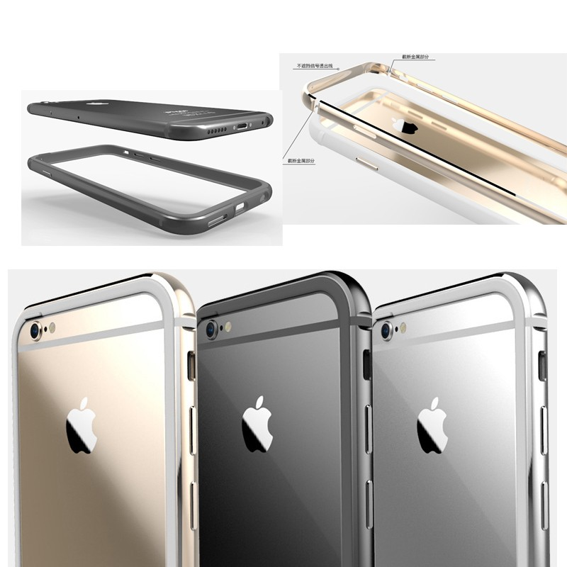 Simple and neat style Metal bumper for iPhone 6/6s,Metal bumper case for iphone 6s
