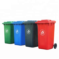240l HDPE Outdoor Use customized Garbage Dustbin Recycle Bin