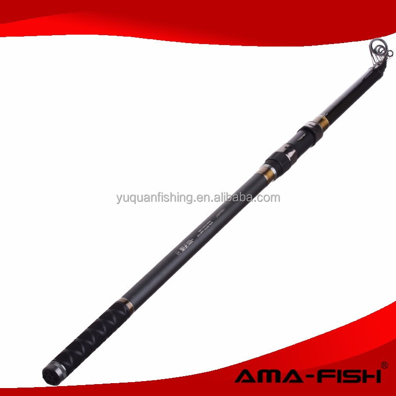 AMA-FISH or OEM fishing rod factory carbon/fiberglass rod tele carp rod with Line 3.0lbs
