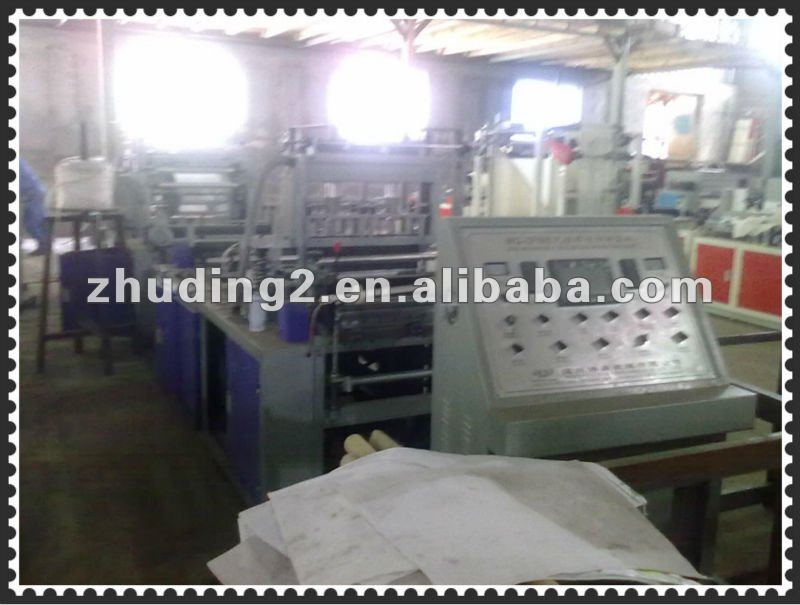2012 special designed Full automatic non woven fabric cloth bag making machine