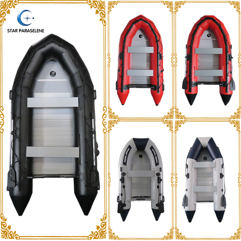 pvc rib inflatable boat made in china with outboard motor aluminum boat rigid inflatable fishing boat