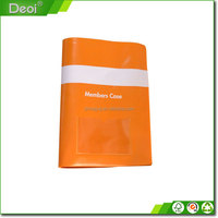 PVC plastic booklet book cover