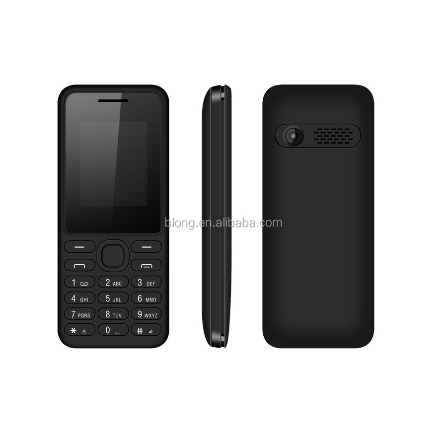 Cheap Big Button Basic Dual Sim Low End GSM Bar Cell Phone