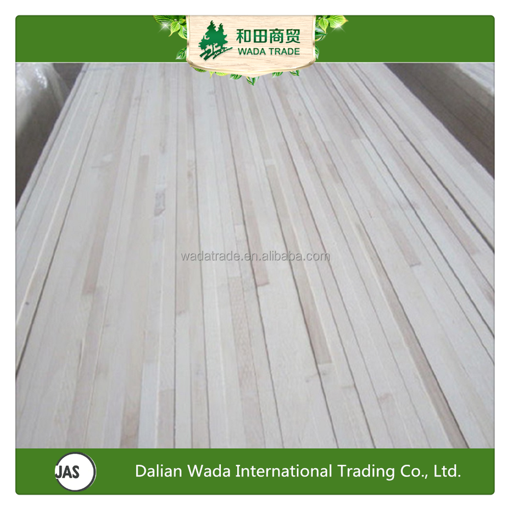 Paulownia and Poplar laminated veneer panel for indoor usage