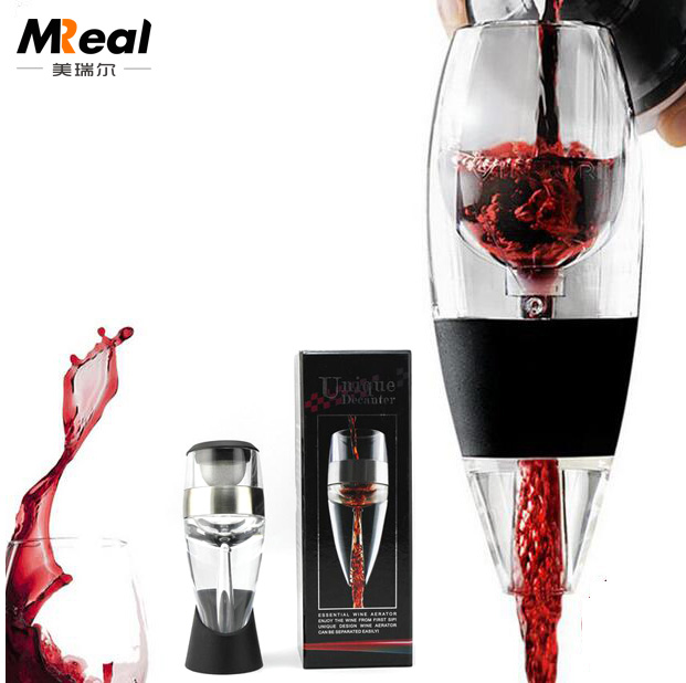 Amazon Wine Pourer With Circle Design Built Put On Wine Bottle