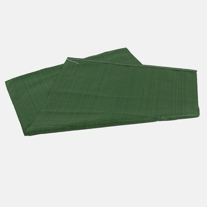 green pp woven bag/sack packing feed 50kgs