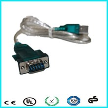 USB to mini rs232 converter cable with free sample