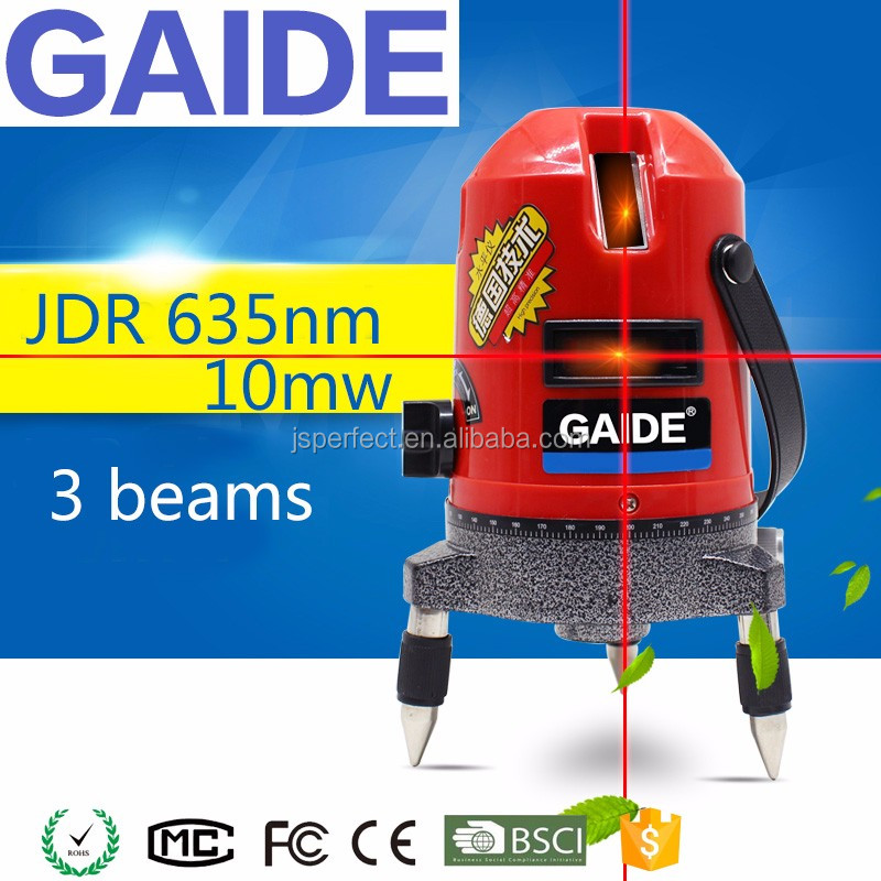 Professional self-leveling construction JDR 635nm 10mw laser level