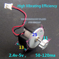 2-5V 50-120mA 300 Vibrating Brush Motor for Massage Appliances High Vibration Motor